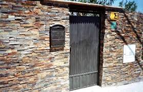 Fachada Ventilada De Cerámica Y De Piedra Natural  Montajes Rica Fachada De Piedra Natural
