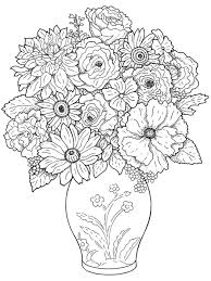 Small Picture 127 best Coloring pages Flowers images on Pinterest Drawings