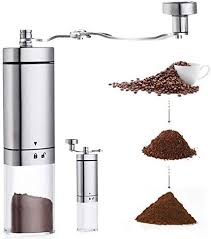 Made from borosilicate glass and fastened with a wood collar and tie, the chemex coffeemaker brews without imparting any flavors of its own. Avnicud Manual Coffee Grinder Hand Coffee Grinder With Adjustable Conical Ceramic Burr Triangular Appearance With Foldable Handle For Drip Coffee Espresso French Press Chemex Coffee Cold Brew Turkish Brew