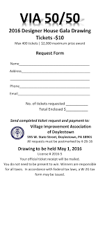 via 50 50 drawing bucks county designer house gardens 50 50 ticket 2016 c request form