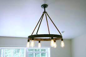 round edison bulb chandelier style chandelier