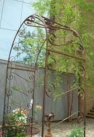wrought aileen minor arch trellis