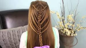 Hairstyle Waterfall waterfall twists into mermaid braid cute girls hairstyles 5682 by stevesalt.us