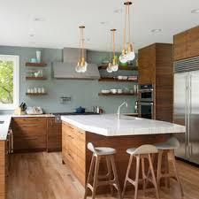 Whether your style is vintage, shabby chic, bright and colorful, or modern, these ideas will help give your kitchen a pop of personality! 75 Beautiful Mid Century Modern Kitchen Pictures Ideas May 2021 Houzz