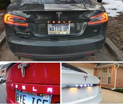 evannex lighted emblem for tesla model s lighted emblem for tesla model s