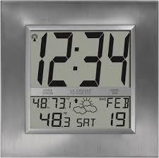 ws 8349u atomic digital wall clock