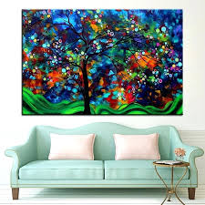 large colorful wall art large size printing oil painting bold colorful wall painting wall art decoration large colorful wall art
