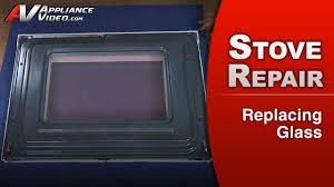 whirlpool wfe510s0aw0 stove replacing door glass inner door glass appliance