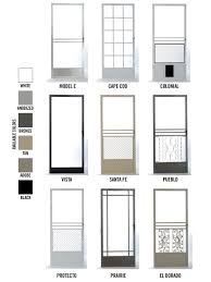 Swinging Screen Door Product Details - Mobile Speed Screens Inc