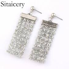 Sitaicery 2019 <b>New Fashion Korea</b> Pearl Drop <b>Earrings</b> Women ...