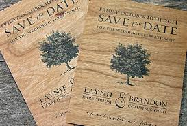 diy real wood wedding invitations & cards real wood paper Real Wood Wedding Invitations cherry real wood paper printed save the date real wood wedding invitations custom