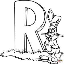 letter r coloring pages free coloring pages within the adorable letter r color pages
