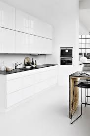 modern white kitchen cabinets best 25 white contemporary kitchen ideas on