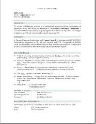 Sap Hr Resume Sample Interesting Awesome Collection Of Cover Letter For Sap Hr Consultant Resume