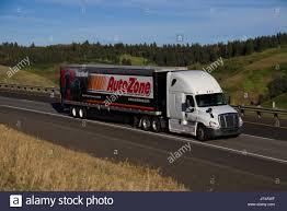 Autozone Trailer Lights Freightliner Semi Trailer Stock Photos Freightliner Semi