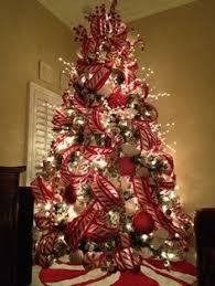 christmas trees decorated professionally with presents. Brilliant Trees Professionally Decorated Christmas Trees  Peppermint Tree  Exquisite Professional Decor By  To With Presents