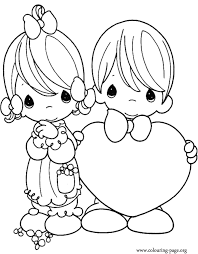 Small Picture Valentines Day Coloring Coloring Pages