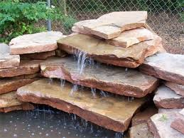 to build a waterfall for your garden pond