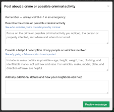 our commitment to end racial profiling on nextdoor nextdoor blog a racial profiling flag feedback from the member who flagged the post when a post is flagged as racial profiling it is immediately escalated to the