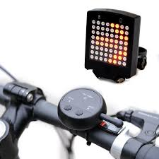 Bike Light With Remote 64 Led Wireless Remote Laser Bicycle Rear Tail Light Bike Turn Signals Safety Warning Light