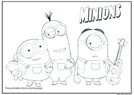 Minions Coloring Pages Pdf Cantierinformaticiinfo