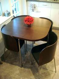 round space saver table and chairs round space saver dining table and chairs space space saving