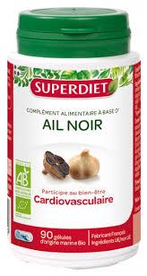 Super Diet Organic Black <b>Garlic 90 Capsules</b>