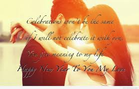 Quotes About New Love Enchanting Happy New Year 48 Greeting Card Image Pic For BF GF Lover