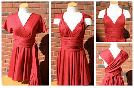 Infinity Dress Pattern Enchanting Little Red Infinity Dress Tutorial Sew Like My Mom