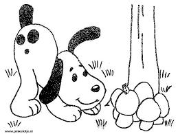 Kinderpleinen Honden Kleurplaten