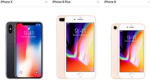 Iphone 8 And X Comparison Chart Iphone X Vs Iphone 8 And 8 Plus Which One Should You Buy