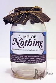 diy gag gifts awesome instant jar nothing printable great gag t or perfect of diy