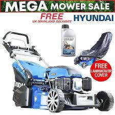 Petrol Lawnmower Rear Roller Self Propelled Lawn Mower <b>48cm 19</b> ...