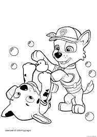Paw Patrol Coloring Pictures Mjsweddingscom