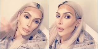 kim kardashian s makeup and contour routine is seriously over the top life style