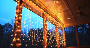 yard lighting ideas. Hang Curtain Lights Across The Deck! Yard Lighting Ideas