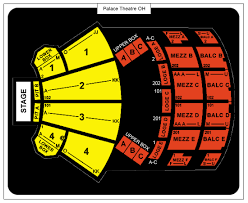 Greensburg Palace Theater Seating Chart Palace Theatre Columbus Oh Seating Chart His Theatre