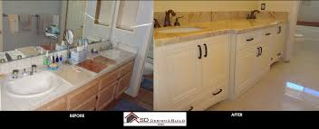 Simple Modern Bathroom Update Before And After - Bathroom remodel before and after pictures