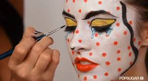 mac cosmetics easy makeup tutorial ic book pop art pop art character tutorial this is one