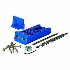 Details About Kreg Jig Kjhd Starter Kit Hd Drill Guide Stepped Drill Driver Bit Screw Set