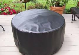 Oriflamme Fire Pit Storage Cover Firepits Accessories Clover Home Leisure