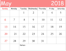 Blank May Calendar Free May 2018 Calendar In Printable Format Templates Calendar Office