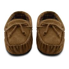 mens bedroom slippers wide. new-mens-dunlop-genuine-leather-suede-moccasin-slippers- mens bedroom slippers wide