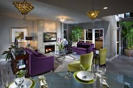 Contemporary Hollywood Glamour contemporary-living-room