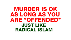 feminism is murder feminists tried to murder dean saxton this situation the criminal perfectly matched the behavior of radical muslims who try to murder those who offend their religion yet the radical muslim