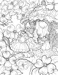 Small Picture Enjoy Fairy Coloring Pages in Fairy World IMPACT Books