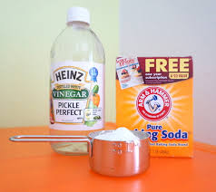 Vinegar and Baking Soda Drain Cleaner