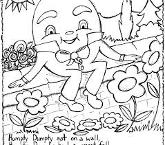 rhyming coloring pages nursery rhymes sheets rhyme love page word