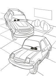 Cars 2 Kleurplaat Tropicalweather
