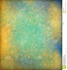 Blue And Gold Design Blue Green And Gold Vintage Background Design With Grunge